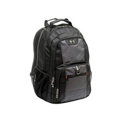 83556ce034d Wenger Pillar laptoprugzak 16 inch, polyester, gevoerd, zwart/grijs